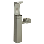 Model 3611FR, Modular Outdoor Freeze Resistant Bottle Filler and Drinking Fountain