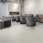 Collection Uptown colour White Floor Tiles