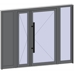 grand trafic doors - double inward opening with 2 fixed