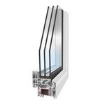 PVCi30 - 1-leaf hidden-profile Tilt-And-Turn Window