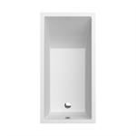 CUBIC 1600x800 rectangular bathtub
