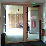 extrem - single outswing door and sidelight