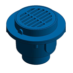 "Z511 9"" Diameter Top Heavy-Duty Drain"
