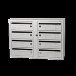 Kompakt 270 8 compartments D 25 mm mail slot