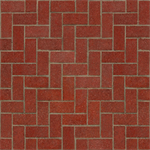 Clay pavers for rigid paving. ACr