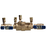 Double Check Valve Assemblies with Union End Ball Valves - Small Diameter - 850U Small