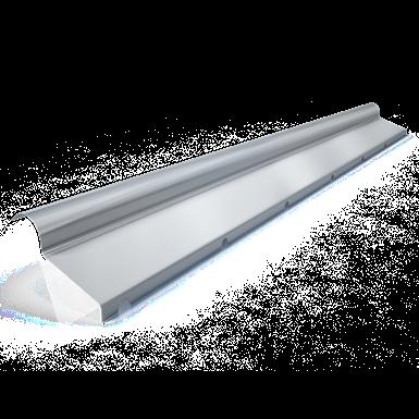 Half ridge with flange C2  model 40