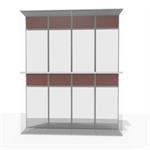 aluminum double skin facade - 76 % to 100 % transparent