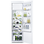 Zanussi BI Slide Door Refrigerator With Freezer Compartment 1772