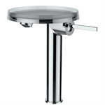 KARTELL BY LAUFEN Column basin mixer disc