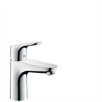 Focus Single lever basin mixer 100 with pop-up waste set 31607000