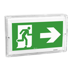 uraproof self-contained emergency lighting autotest-addressable luminaire