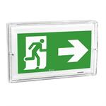 uraproof self-contained emergency lighting autotest-addressable luminaire