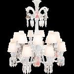 zénith flou chandelier ceiling 18l