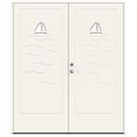Exterior Door Character Ocean Double