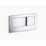 """veil® flush actuator plate for 2""""x6"""" in-wall tank and carrier system"""