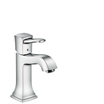 Metropol Classic Single lever basin mixer 110 with lever handle and pop-up waste set 31300000
