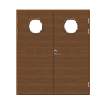 Exterior Door Function F2090 W68 Veneered Double