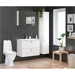 Bathroom Vanity unit Graphic Base - 80 cm