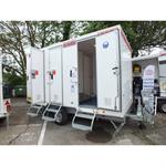 lead decontamination trailer - 3 sas plomb