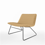 829_Slim Lounge low armchair