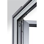 fixed transom window and tilt-turn window - kalory
