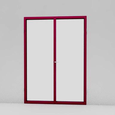 aluminum  window - large opening hinge >2.3m2