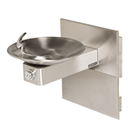 Model 1001MS, Stainless Steel Drinking Fountain with Mounting System