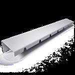 bandeau de faîtage à rejet oblique c4-2 hauteur 40