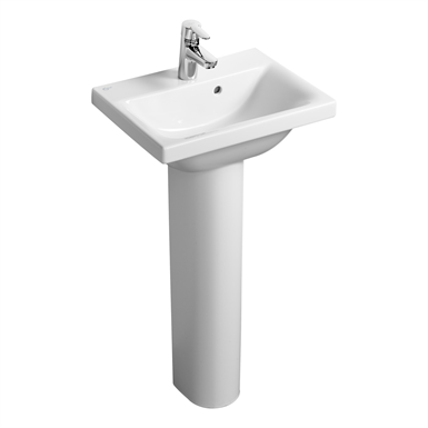 Concept Space 50cm Washbasin 1 Taphole