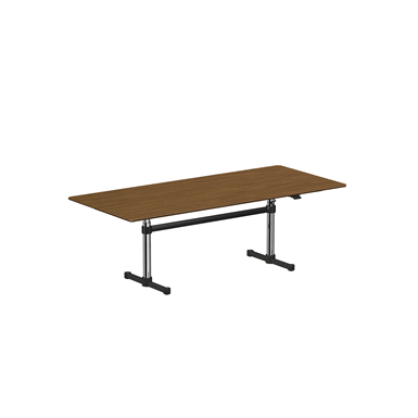 meeting table, height adjustable 2250x1000 mm