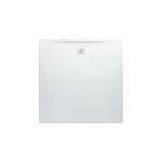 LAUFEN PRO Shower tray 1200x1200, made of Marbond composite material, super flat, square, outlet at side