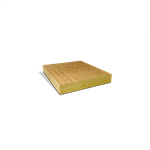 rockacier b nu energy under bituminous membrane for flat metal roof area (inside perfored steel at 15%) (fr)