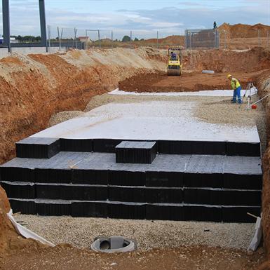 Underground Infiltration Basin