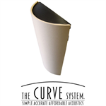 The CURVE System™ - Diffusors, Absorbers, and Corner Traps