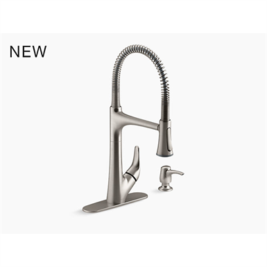 lilyfield™ pro pull-down kitchen faucet