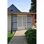 double wood french door - renovation
