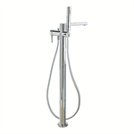 Balance Floor-standing single lever mixer for bath