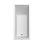 CUBIC 1400x700 rectangular bathtub