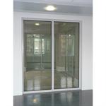 aluminium fixed framed partition wall