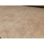 béton imprimé - stamped concrete  - chryso®duraprint - dalles de bourgogne