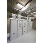 modular xl³ 4000 metal enclosures for ip55 electrical panels with protection devices up to 6300a