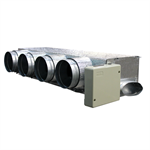 Motorized plenum Daikin low profile 4 dampers