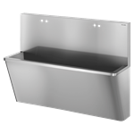 186200 op-waschrinne mit hoher rückwand