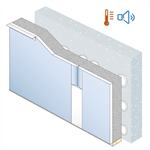 Acoustic & Thermal Insulation board PRÉGYMAX