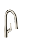 Talis S Single lever kitchen mixer 160 with pull-out spray 72815800