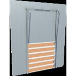 smoked glass door vertical lift line'r
