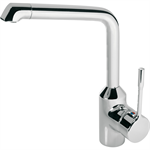 retta kitchen mixer one hole high spout single lever hand, low pressure