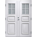 Diplomat Elvira Glass double door