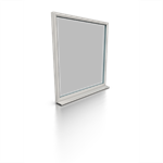 HALO System 1062 Fixed Triple Glazing Frame 72mm